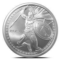 THE SPARTAN 1 oz Silver Round Coin WARRIOR SERIES - #1 of 6 Molon Labe IN-STOCK!