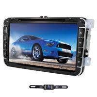 "8"" Car DVD GPS Navigation Head Unit Stereo Radio For Volkswagen Amarok 2011-2016"