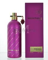 Montale Roses Musk Unisex Eau De Parfum 3.4 Oz 100 Ml Spray