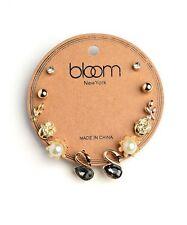 Women Fashion Jewelry Swans Roses Leaves Stud Earrings Multi Pack Casual Cute!