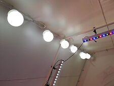 6pc Gazebo Tendone Tenda Grande Da Appendere Globe Stringa Luci Giardino Illuminazione Set