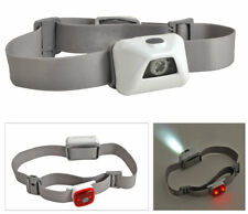 LED Stirnleuchte & Rücklicht + SOS Signalpfeife inkl. Batterien Kopflampe
