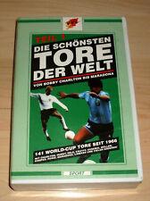 VHS Film - Die schönsten Tore der Welt Teil 1 - Fussball - Videokassette