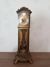 Vintage Schatz Miniature grandfather clock, 8 days movement