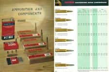 Norma 1966 Ammunition and Components Catalog