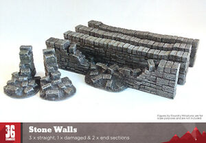 Stone Walls Resin Terrain Pack
