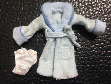 2 in 1 Set Lovely Blue NIGHTGOWN+KNICKERS For Barbie Doll Clothes