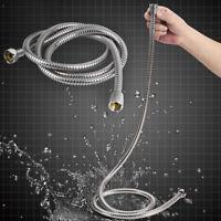 Stainless Steel Flexible Shower Head Hose Pipe Washer Bathroom Bath Shower1.5-3M