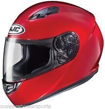 HJC CS-R3 Motorcycle Helmet Candy Red XXL 2X 2XL Extra Extra Large Full Face DOT
