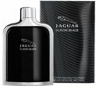 Jaguar Classic Black Cologne Men Perfume Eau De Toilette Spray 3.4 oz 100 ml EDT