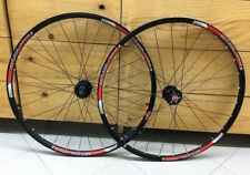 "RUOTE 29"" BONTRAGER MUSTANG BLACK RED Nipples Silver"