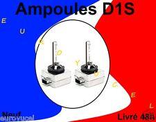 2 AMPOULES DE RECHANGE D1S D1R 35W 6000k NEUF RENAULT AUDI BMW MERCEDES QUALITE