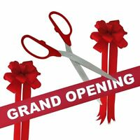 20 Quot Ceremonial Ribbon Cutting Scissors Red Grand Opening