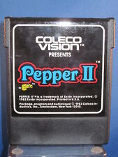 Coleco Vision Pepper II Exidy Video Game
