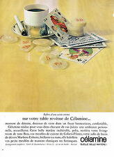 PUBLICITE ADVERTISING  1963   CELAMINE  revetement bois