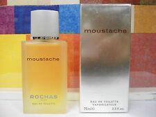 MOUSTACHE BY ROCHAS FOR MEN EAU DE TOILETTE SPRAY 2.5 OZ / 75 ML NIB