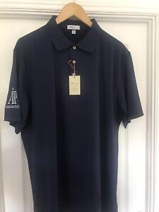 Audemars Piguet AP Peter Millar Golf Polo Shirt Navy XL BNWT Rare Tour Issue