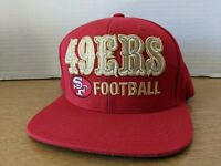 San Francisco 49ers Hat Snapback Cap NFL Vintage Collection Mitchell & Ness Hat