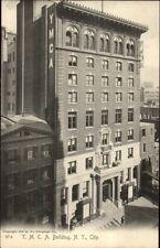 New York City YMCA Bldg ARCHITECTURE c1905 Postcard