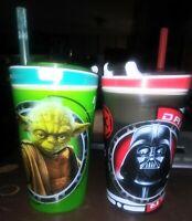 Zak! Designs Star Wars Snackeez/Cups With Lids DARTH VADER &YODA