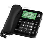 AT T Big Button Corded Black Speakerphone with Large Numbers