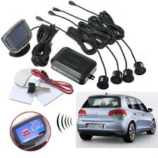 LCD Car Reverse Radar + Rear View 4 Parking Sensor Backup Alarm System Buzzer