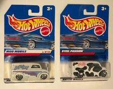 2x HOT WHEELS Got Milk? Trucks - Steel Passion (name error) & MOO Mobile - 5782