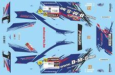 DECALS 1/43 SUBARU IMPREZA WRC -#27 - LEONARD - RALLYE DE WALLONIE 2015 - D43393