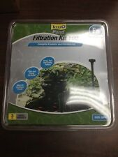 Tetra Pond Fountain and Filtration Kit, 325 gph, Perfect for Container Ponds