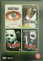 Boogeyman Bogey Man 1&2 Halloween 4 5 Ulli Lommel 2 Disco Regn 0 DVD