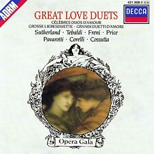 GREAT LOVE DUETS - GROSSE LIEBESDUETTE / CD - TOP-ZUSTAND