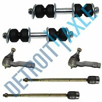 Front Inner Outer Tierod Sway Bar Link Kit for 1986-1997 Ford Aerostar