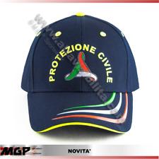 CAPPELLO CAP BERRETTO CAPPELLINO PROTEZIONE CIVILE RICAMI DIRETTI ESCLUSIVO MGP