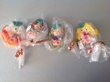 Lot Of Very Rare Mini Wood Dolls 70S Sealed#4 Mini Wood Dolls Bamboline Legno