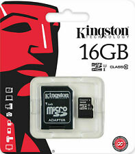 Kingston Micro SD 8GB-16GB Class 4