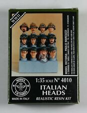 MODEL VICTORIA 4010 1/35 Italian Heads Set WWII No.1 (12 heads) (NL)