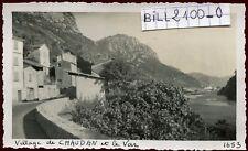 Chaudan . Bonson . Alpes-Maritimes  . photo ancienne . septembre 1946