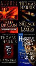 Thomas Harris HANNIBAL LECTOR Series PAPERBACK Set Books 1-4 Hit TV Show on NBC