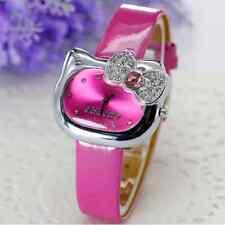 Reloj HELLO KITTY watch crystal pink Rosa fucsia con brillantes   A1222