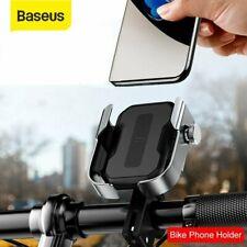 Baseus Motorcycle Bicycle Phone Holder Stand Handlebar Mount Scooter GPS Bracket