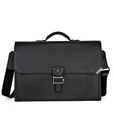 MontBlanc Urban Spirit Double Gusset Briefcase - Black