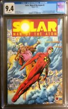 SOLAR MAN OF THE ATOM #3 NM 1ST APPEARANCE OF TOYO HARADA 1991 CGC 9.4