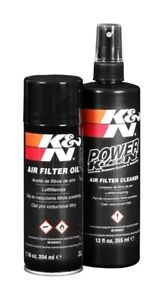 K&N 99-5003EU Reinigungsset Pflegeset Reiniger + Luftfilteröl Sportluftfilter