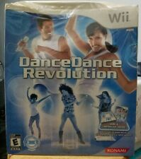 New * Nintendo Wii * Dance Dance Revolution Game & Mat Controller * DDR