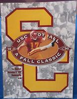 College Football Game Program Homecoming 1995 USC Trojans Vs. Stanford Cardinal