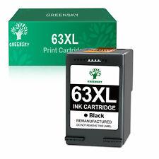 63 XL Black Ink for HP 63XL OfficeJet 5222 5232 5252 5255 5258 3830 4650 Printer