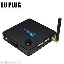 2GB+32GB YOKA KB1 Quad Core Android 6.0 Smart TV Box Dual Band WiFi BT4.0  EU