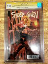 Spider-Gwen 4 CGC 9.8 SS 3x Sign Sketch Robbi Rodriguez Jason Latour Mark Brooks