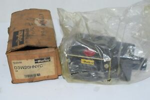 NEW Parker D3W20HNYC D3W Series - Single solenoid, 2 position, spring offset