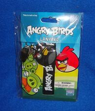 Angry Birds Lanyard New Old Stock Sealed